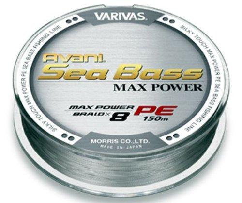 モーリス(MORRIS) PEライン バリバス アバニ シーバス マックスパワー 150m 1.2号 MAX24.1lb