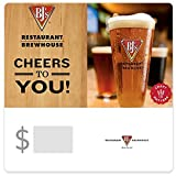 BJ's Restaurant & Brewhouse Pizza Gift Cards - E-mail Delivery