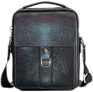 YAWESH®Men Bag, Pu Leather Men Cross Body Bag, Shoulder Bags for Mens, Brown Dark Brown And Black Three Color Handbag, For...