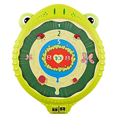 MAGELIYA Cartoon Magnetische Dartscheibe Set Sicherheit Dartscheibe mit 3 Stück Darts Familienspiel Sportspielzeug für Kinder Kinder Geschenk Indoor Outdoor
