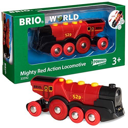 BRIO-33592 Gran Locomotora a Pilas con luz y...
