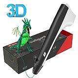 ♥La penna di stampa Tecboss 3D è in grado di utilizzare 1,75 mm di filamenti PLA e PCL, è possibile scegliere di utilizzare qualsiasi materiale di stampa 3D. Questa penna 3D fornisce il controllo di temperatura basso e sicuro per sciogliere il filame...