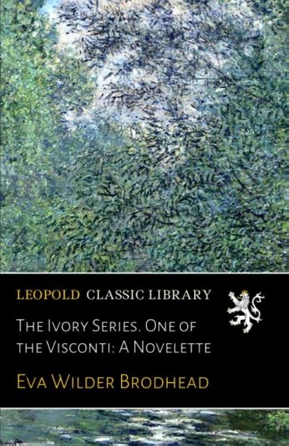 マイクアフリカ人サーバThe Ivory Series. One of the Visconti: A Novelette
