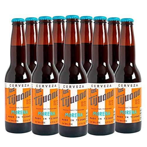 Cerveza Clara Tijuana Morena, 24 botellas de 355 ml c/u