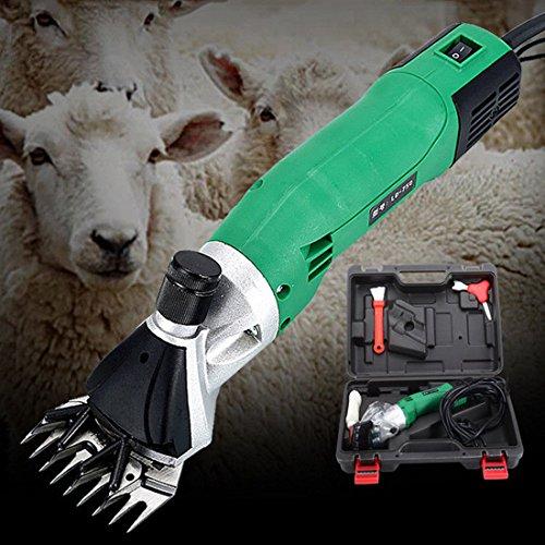 Tondeuses 750W Électrique Mouton Chèvre Cisailles Toiletteur Laine Cisaillement Ferme 220V