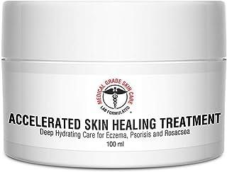 Eczema, Rosacea, Dermatitis, and Psoriasis Cream   Medical Grade Accelerated Skin Healing Treatment