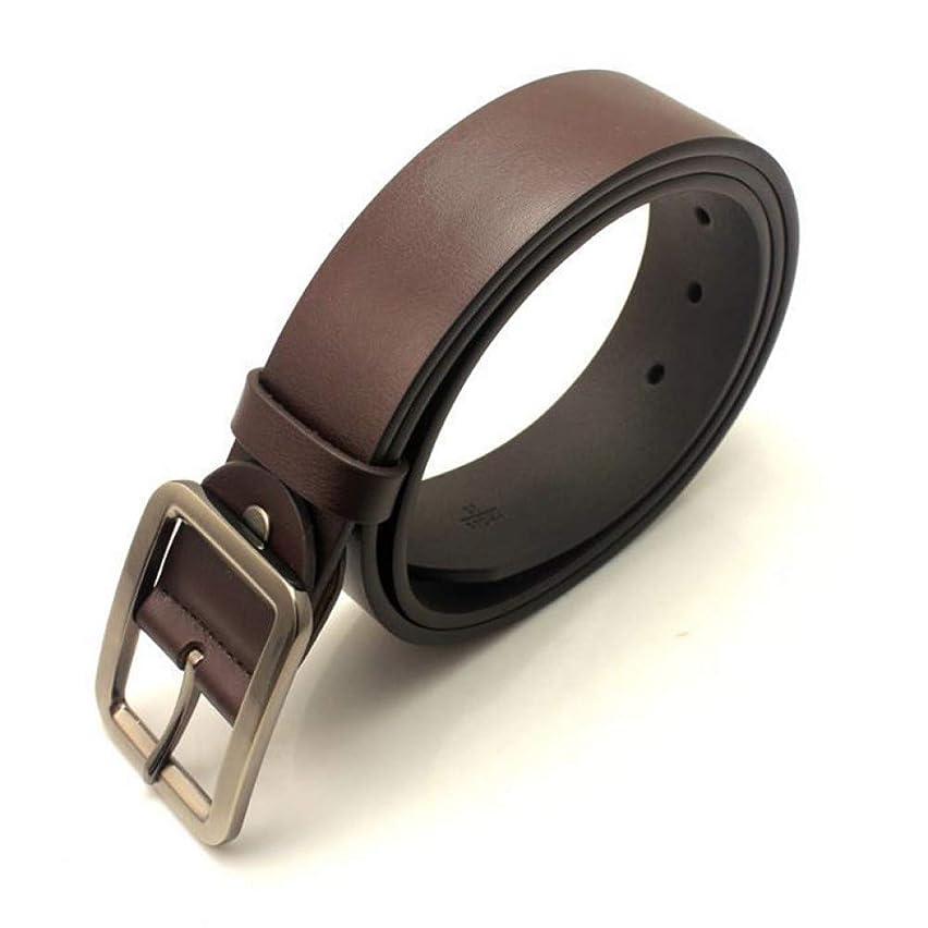 DAHDXD Men and Women Luxury Brand Leather Belt Male Female Pin Casual Buckle Cowhide Trouser Wiast Strap