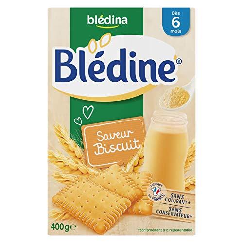 Blédina Bébé Bla Bla © Dina © Dine Flavor Biscuit (DAS 6 Monate) Die Boîte Von 400G (6er-Set)