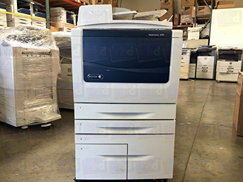 Xerox WorkCentre 5855 Tabloid-Size Monochrome Laser Multifunction Copier - 55 ppm, Copy, Print, Scan, Auto Duplex, Network, 2 Trays, High...