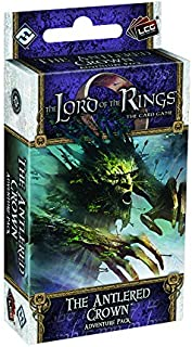 Fantasy Flight Games Lord of The Rings Living Card Game: The Antlered Crown Adventure Pack