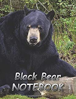 Black Bear NOTEBOOK: notebooks and journals 110 pages (8.5