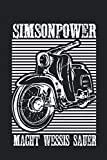 Simson-Power Oldtimer Moped DDR Simson-Schwalbe: Simson-Schwalbe Motor Tuning AWO Fans