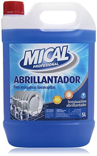 Mical Profesional - Abrillantador - Para máquinas lavavajillas - 5 l