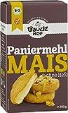 Bauckhof Mais-Paniermehl ohne Hefe, 2er Pack (2 x 200 g Tüte) - Bio
