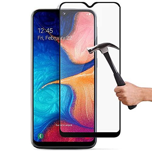 Lapinette Vetro Temperato Integrale Compatibile con Samsung Galaxy A10 - Pellicola Vetro Temperato Galaxy A10 Integrale - 9H Force Glass - Vetro Temperato Copertura Totale