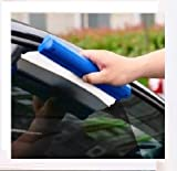 Car Squeegee Glass Window Dryer Silicone Blade Cleaning Water Wiper PACK - 2