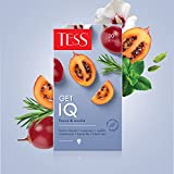 Tess, GET IQ, WELLNESS LINE, TÉ NEGRO CON FRUTAS Y HIERBAS (tamarillo, romero, cardamomo) en bolsitas, Natural, 30 gramos