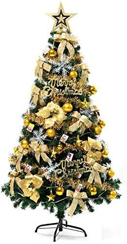 weiwei Árbol de Navidad Artificial con bisagras de Abeto de 6 pies árbol de decoración de Navidad Realista Premium con Cuerda de luz Top Star Árbol de Pino de PVC ecológico Natural 680 Puntas de r