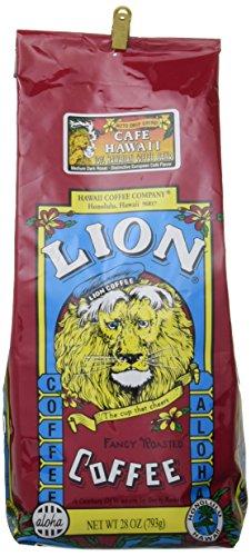 ライオンコーヒー Lion Cofe Hawaii ライオン カフェ ハワイ ミディアム ダーク ロースト コーヒー 粉 793g×48パック