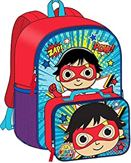 """Ryan's World 16"""" Backpack with Lunch Bag"""