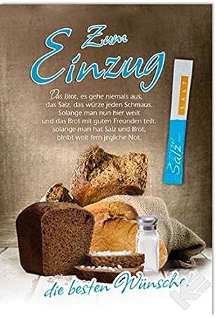 Spruch brot und salz Brot und