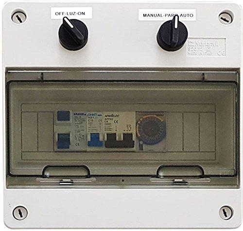 Warmpool Cuadro eléctrico para Piscina con Transformador DC