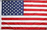 Ericraft Bandera EEUU Grande 90x150cms Bandera Americana balcón para Exterior Reforzada y con 2 Ojales metálicos, Bandera Estados Unidos