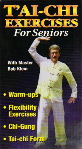 TAI CHI EXERCISES FOR SENIORS--WARM-UPS, FLEXIBILITY EXERCISES, CHI-GUNG & TAI-CHI FORM with master BOB KLEIN (VHS TAPE-2000)