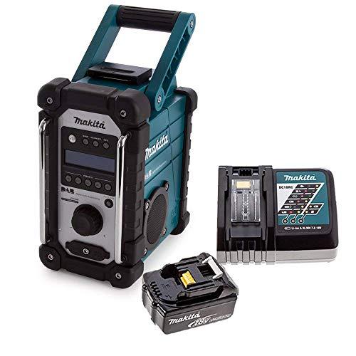 Makita DMR109 DAB 10.8v-18v LXT/CXT Job Site Radio + 1 x 3.0Ah Battery &...