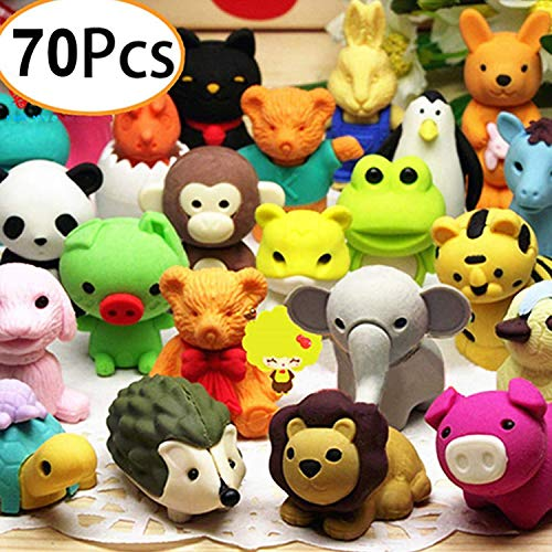 Contains 6 Erasers IWAKO Christmas 2016 Blister Pack PJ Novelty Japanese Christmas Puzzle Eraser Rubber Set