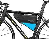 VertAst 4L Delantera para Bicicleta Tubo de la Estructura Bolsa de triángulo Waterrpoof montaña Bicicleta de Carretera Marco Unidades alforja, Negro