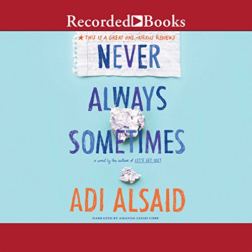 Never Always Sometimes audiobook cover art