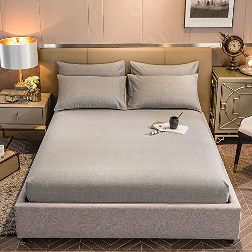 HAIBA Juego de ropa de cama, extra grande, súper suave, lavable a máquina, sin arrugas, transpirable, 120 x 200 + 30 cm