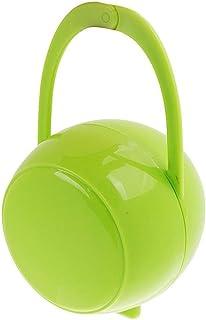 Ogquaton 1 UNIDS Premium Infant Baby Chupete Titular de la Caja de Almacenamiento Caja de Organizador de Aspirador Portátil para Viaje de Viaje al Aire Libre Uso Verde