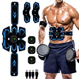 Ben Belle Abs Stimulator, Muscle Toner - Abs Stimulating Belt- Abdominal Toner- Training Device for Muscles- USB Rechargeable Wireless Portable Gym Device- Muscle Sculpting at Home- Fitness Equipment
