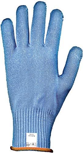 TronicXL Profi Schnittschutz Handschuh Schnittschutzhandschuh Stechschutz Stechschutzhandschuh Strickgewebe Kunststofffaser mit Draht Faden Einlage Metzger Metzgerei Fleischer Security Angler Jagd (7)