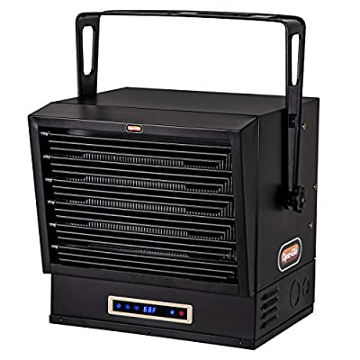 Dyna-Glo EG10000DH Dual Heat 10,000W Electric Garage Heater, Black