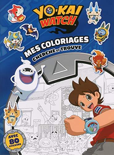 Yo-Kai Watch: Mes coloriages cherche et trouve