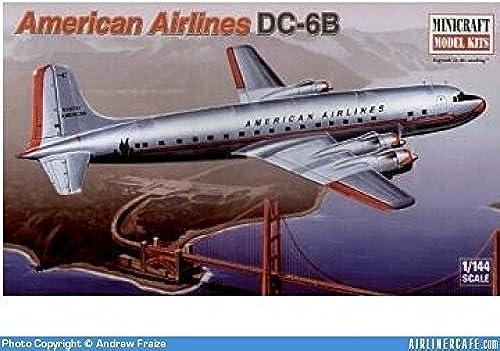 tienda hace compras y ventas American Airlines DC-6B Model Model Model Airplane Kit by Minicraft Model Kits  bienvenido a elegir