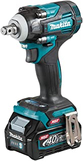 Makita TW004GD203 40V Max XGT Brushless Impact Wrench Complete with 2 x 2.5 Ah Batteries, Fast Charger and Interchangeable...