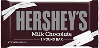 HERSHEY'S Milk Chocolate Easter Candy, 1 Pound, Giant Bar