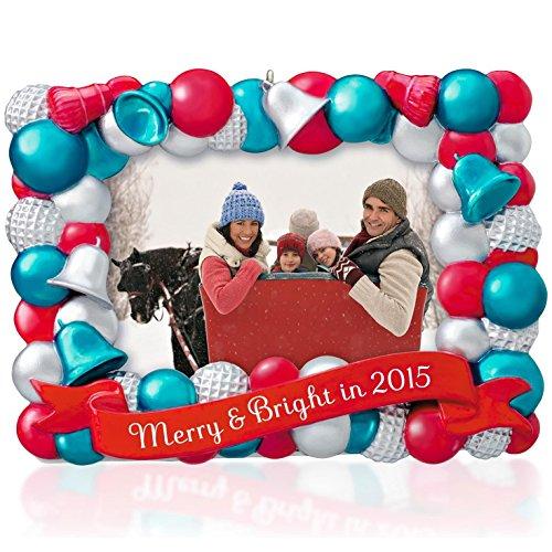 Hallmark Keepsake Ornament Merry and Bright Photo Holder 2015