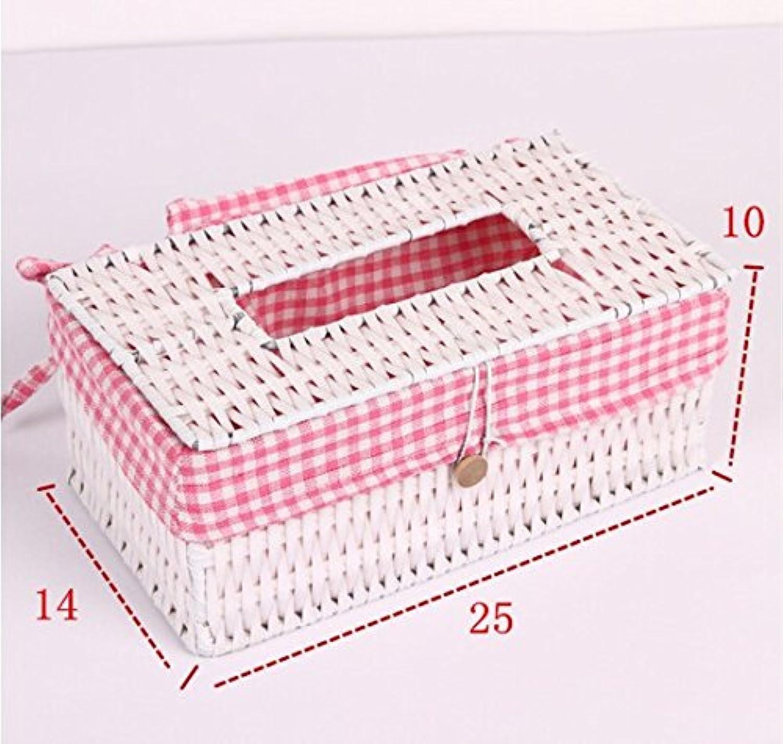 HL-PYL Retro - Rattan - Box Box Box Serviette Box Fernbedienung Kiste Kreatives Zuhause Wohnzimmer,Typ 1 B075K63RZW | Spielzeugwelt, glücklich und grenzenlos