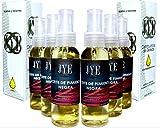 Kit de 6 Botellas de Aceite puro y natural de Pimienta Negra JYE para la piel
