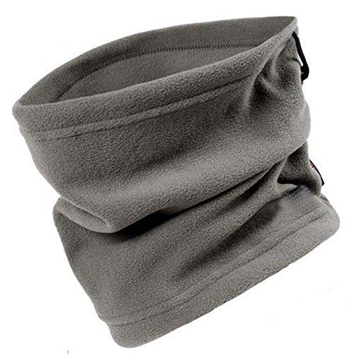 Elandy Unisex Multifunctional Polar Fleece Neck Warmer Scarf for Outdoors...