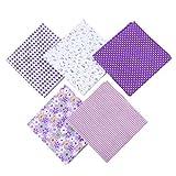 50 x 50 cm 5 Stück verschiedene Muster Muster Muster