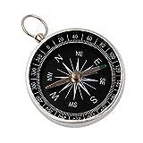 geshiglobal Mini Portable Pocket Kompass für Camping Wandern Outdoor Navigation