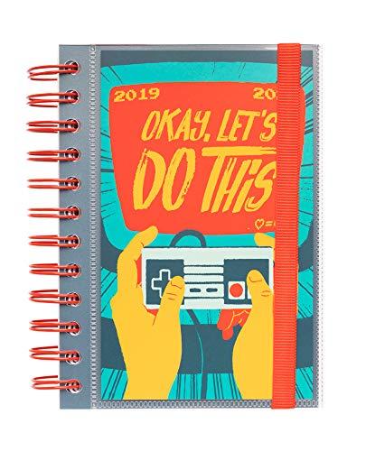 Agenda escolar 2019/2020 día página S Gamer