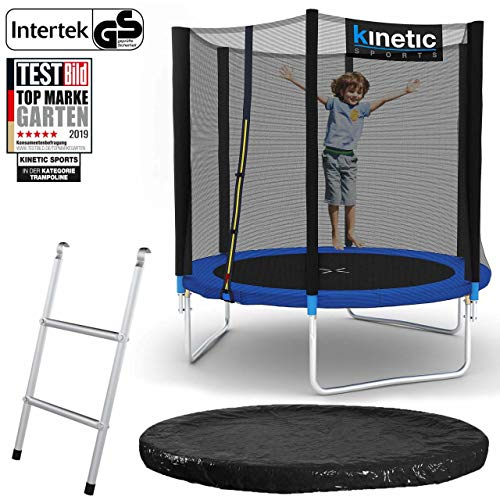 Kinetic Sports Gartentrampolin – ø 183 cm