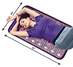 Infrared Mat | Bio, Electromagnetic, Negative Ion, & Red Light Therapy Bed | Large Heating Pad | Amethyst